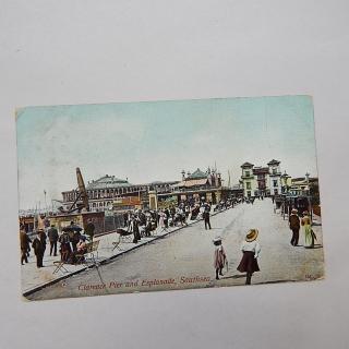 Clarence Pier & Esplanade, Southsea postcard