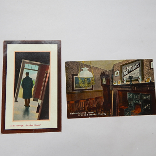 x2 Crooked House Himley Postcards