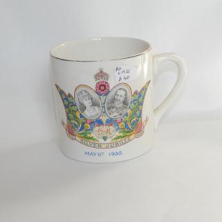 1935 Silver Jubilee Mug