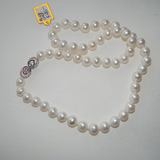 NEW 47cm fresh water pearl necklace