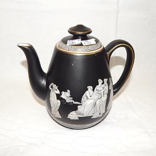 PRATT, Fenton, OLD GREEK Teapot 1850-70's