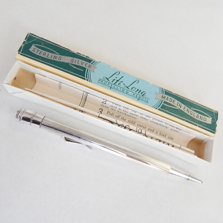 Sterling Silver Life-Long Propelling Pencil