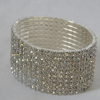 Diamantee set stretch CUFF
